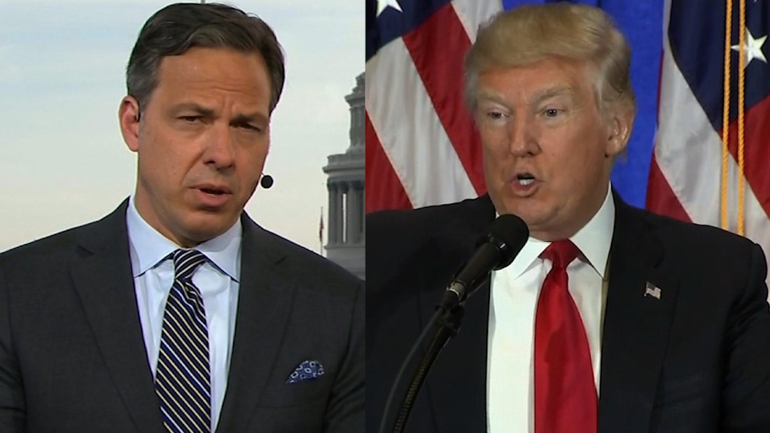 'CNN never did that': Tapper fact-checks Trump