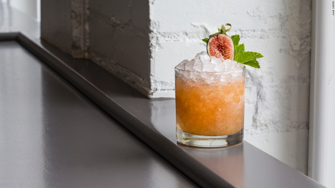 <strong>Julep </strong>-- Inventive seasonal cocktails like the Fig Cobbler join classics including Juleps, Old-Fashioneds and Gin Gin Mules at this Houston hot spot.