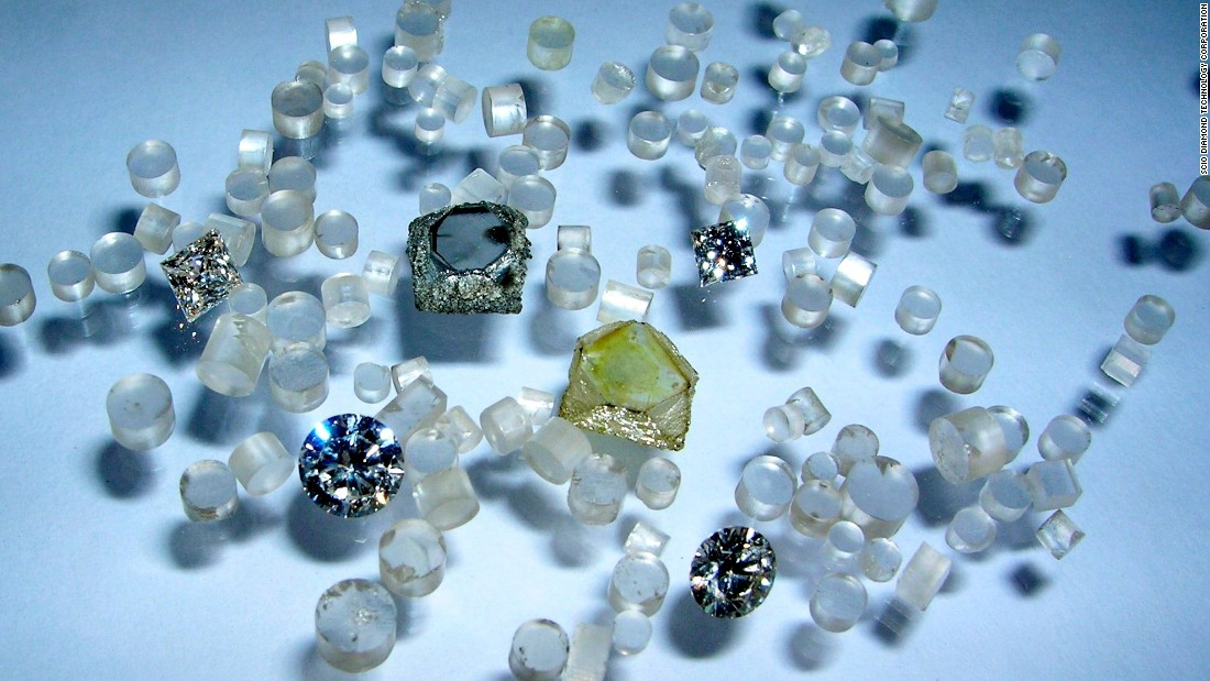 According to Clive Hill, CEO of WD Lab Grown Diamonds, <br />these diamonds are chemically the same as the mined variety.