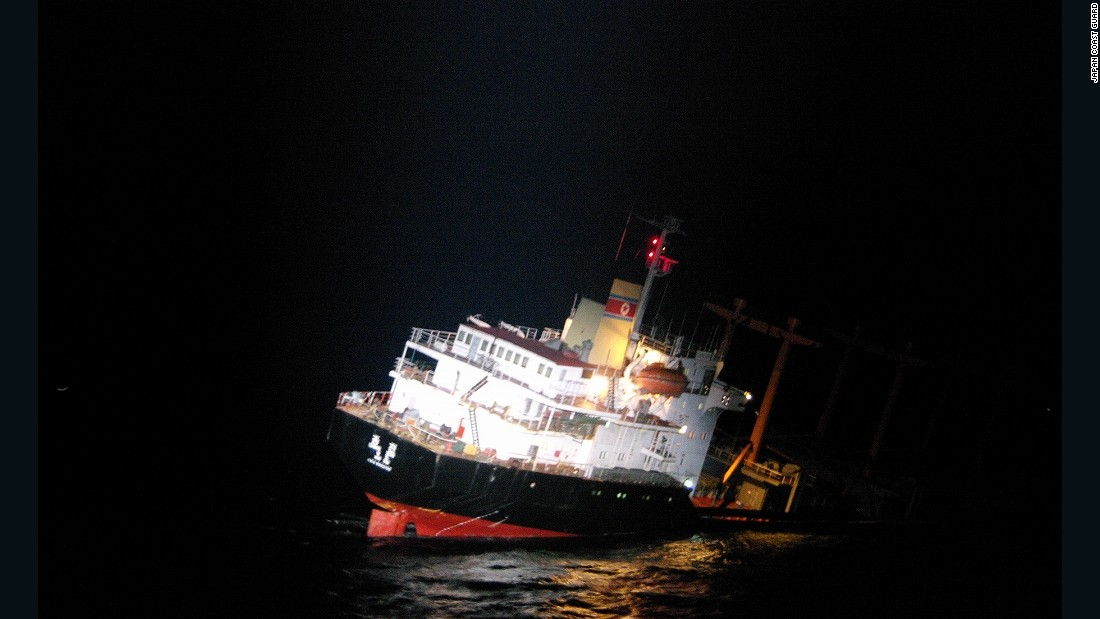 Japan Rescues 26 North Koreans From Sinking Ship
