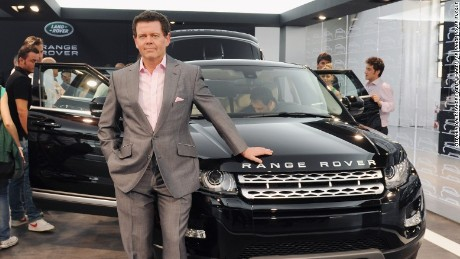 Land Rover design director Gerry McGovern.