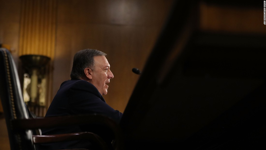 Along with Russia, Pompeo said other global threats include Iran's growing influence in the Middle East, ISIS's grip over major urban areas, and the conflict in Syria.