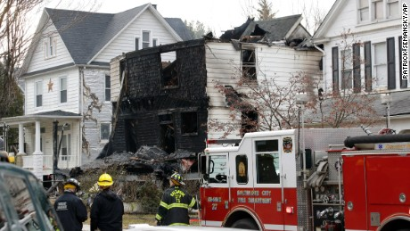 Children Presumed Dead In Baltimore House Fire