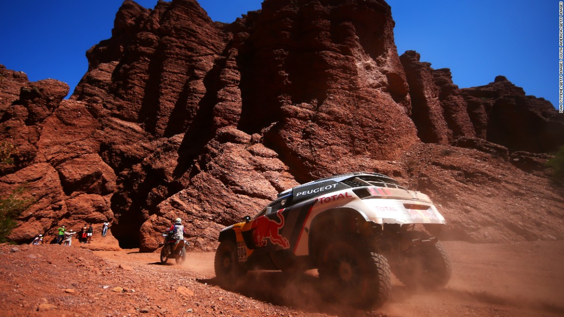 The Dakar is notoriously grueling. Sainz -- who won the 2010 car title -- and co-driver Lucas Cruz were this year forced to retire after rolling their Peugeot into a ravine, leaving the vehicle irreparable.