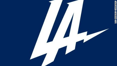 The San Diego Chargers unveiled a new look for the team's move to Los Angeles.