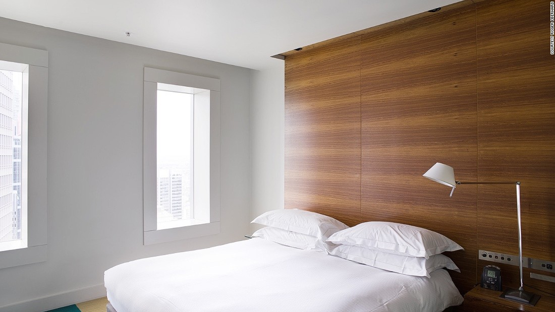 <strong>Room 4320, Sydney: </strong>The anonymity here reaches into the hotel room. Eberhard's standard view reveals no clear indicators of location.