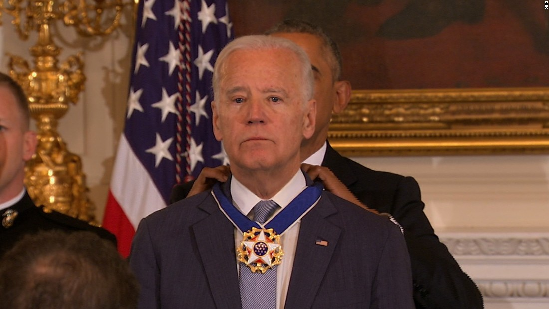 Joe Biden awarded presidential Medal of Freedom
