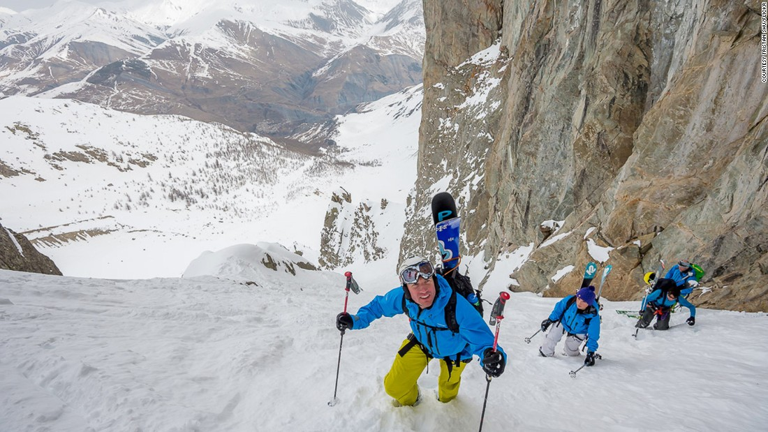 <strong>Free skiing paradise: </strong>La Grave is a mountainscape of glaciers, cliffs, crevasses, couloirs and forests -- and a dream for free skiers when the conditions are right.