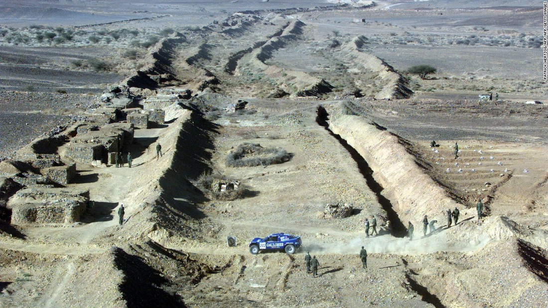 In 2008 the Dakar Rally was canceled on the advice of the French government because of terrorist threats in Mauritania, shown here during the 2001 event. It relocated to South America in 2009 and has remained there ever since.