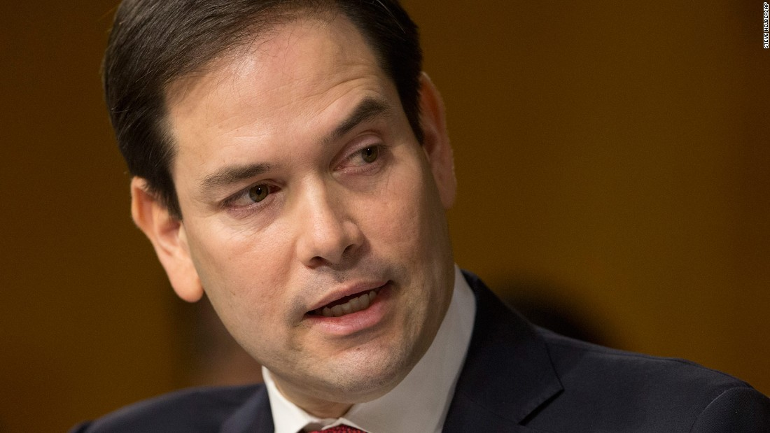 Rubio to vote to confirm Tillerson as secretary of state