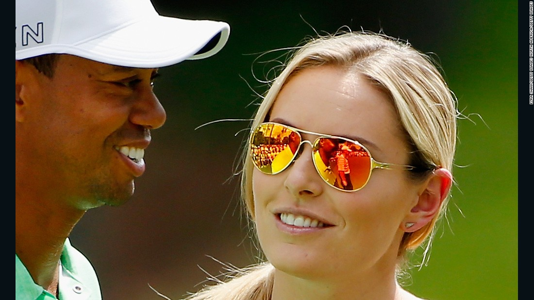 Vonn's public profile went galactic when she dated star golfer Tiger Woods for two years from 2013-2015.