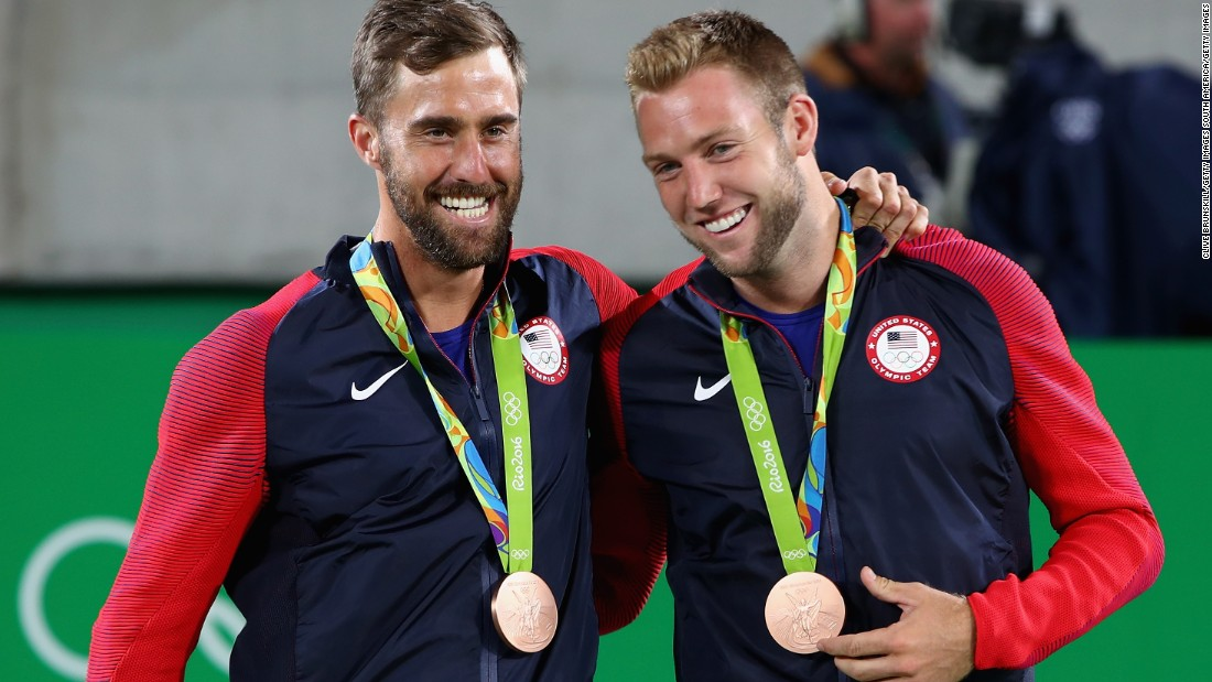 It was his second medal of the Games, having also helped himself to bronze in the mixed doubles with Steve Johnson. The American duo beat Canadians Daniel Nestor and Vasek Pospisil in straight sets 6-2 6-4.