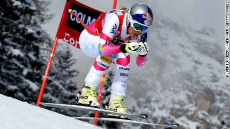 Vonn returned from injury to win her seventh World Cup downhill title in 2015.