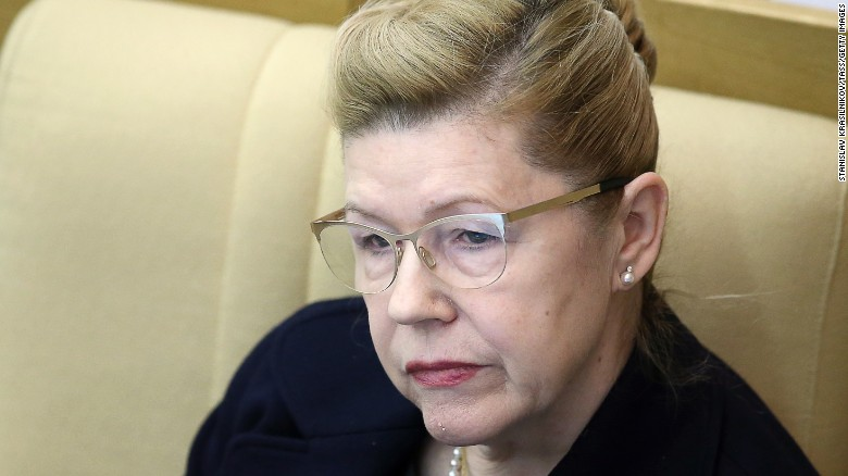 Conservative MP Yelena Mizulina is spearheading and sponsoring the domestic violence bill (Photo Courtesy of CNN)