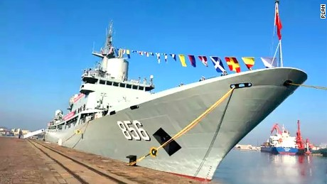 The CNS Kaiyangxing or Mizar went into service earlier this week in the eastern port city of Qingdao.