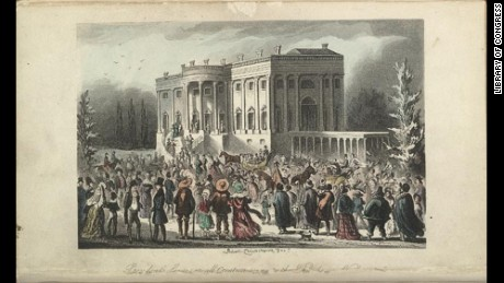 Andrew Jackson's inaugural party was a wild time.