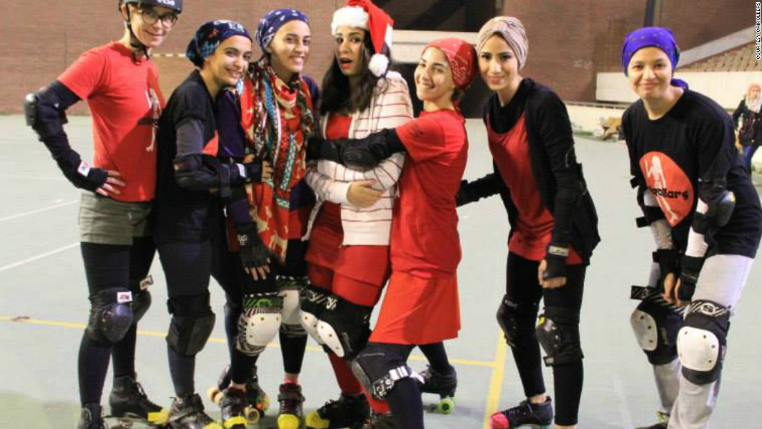 """The CaiRollers specifically came into being at a time when things were really changing in Egypt and we definitely felt like we were in some small way a part of history,"" says Susan Nour, one of CaiRoller's founding players. Their first games were held after the revolution that brought down Mubarak's rule of almost 30 years."