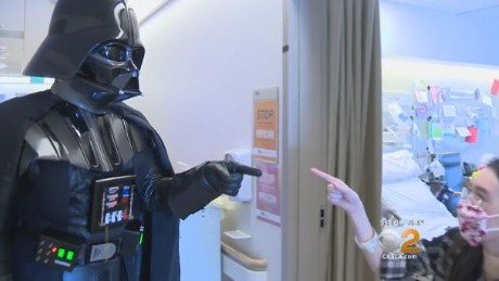Star Wars fan gets liver