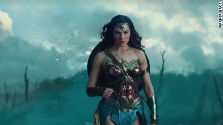 wonder women screen shot from trailer