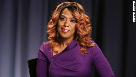 Actress Jennifer Holliday poses for photos during an interview, in New York in  October 2016.