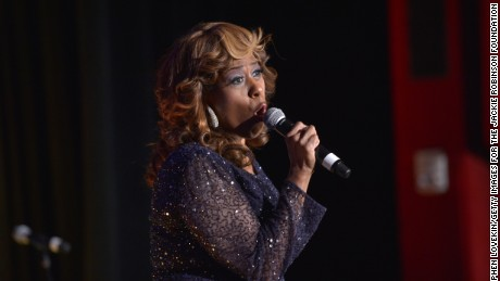 Jennifer Holliday performs at Jackie Robinson Foundation 2014 Awards Dinner at Waldorf Astoria Hotel on March 3, 2014 in New York City.