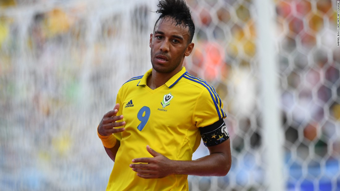 Gabon's star forward Pierre-Emerick Aubameyang was expected to star against unfancied Guinea-Bissau.