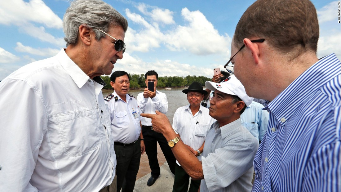 John Kerry Visits Site Where He Killed A Viet Cong Soldier