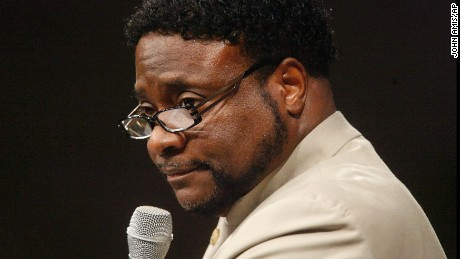 Bishop Eddie Long speaks on September 26, 2010 at New Birth Missionary Baptist Church near Atlanta.