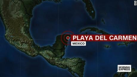 mexico playa del carmen map