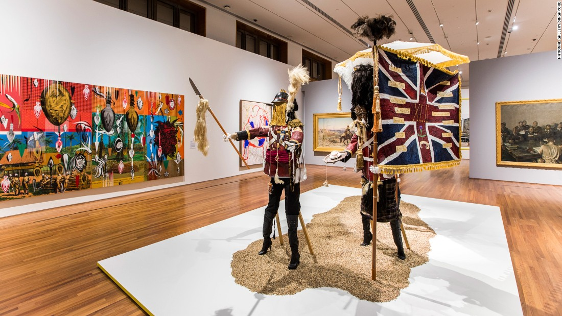 "In collaboration with London's Tate Britain, <a href=""https://www.nationalgallery.sg/see-do/programme-detail/291/artist-and-empire-encountering-colonial-legacies"" target=""_blank"">National Gallery Singapore</a> showcases art associated with the British Empire through time and viewpoints from Southeast Asia, ranging from the 16th century to the present."