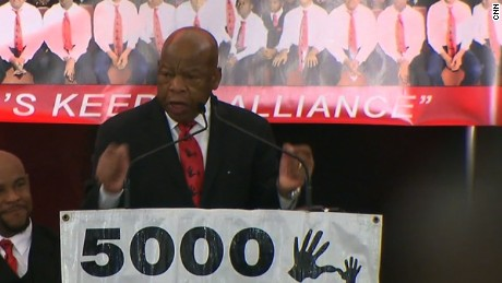 john lewis mlk speech miami