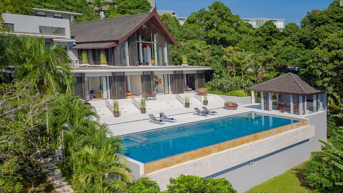 <strong>Baan Maprao, Phuket, Thailand: </strong>This ultra-modern four-bedroom villa overlooks Phang Nga Bay. It's one of several Phuket properties managed by Singapore-based luxury destination club Afini.