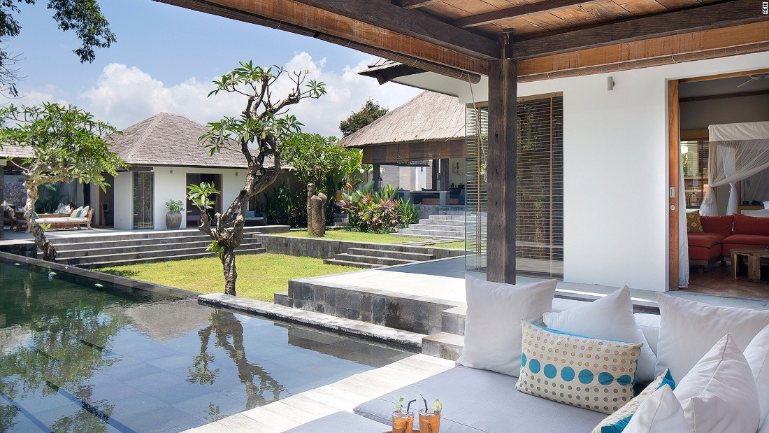 <strong>Villa Levi, Bali:</strong> Another Bali stunner, this four-bedroom residence is steps away from Petitenget Beach.