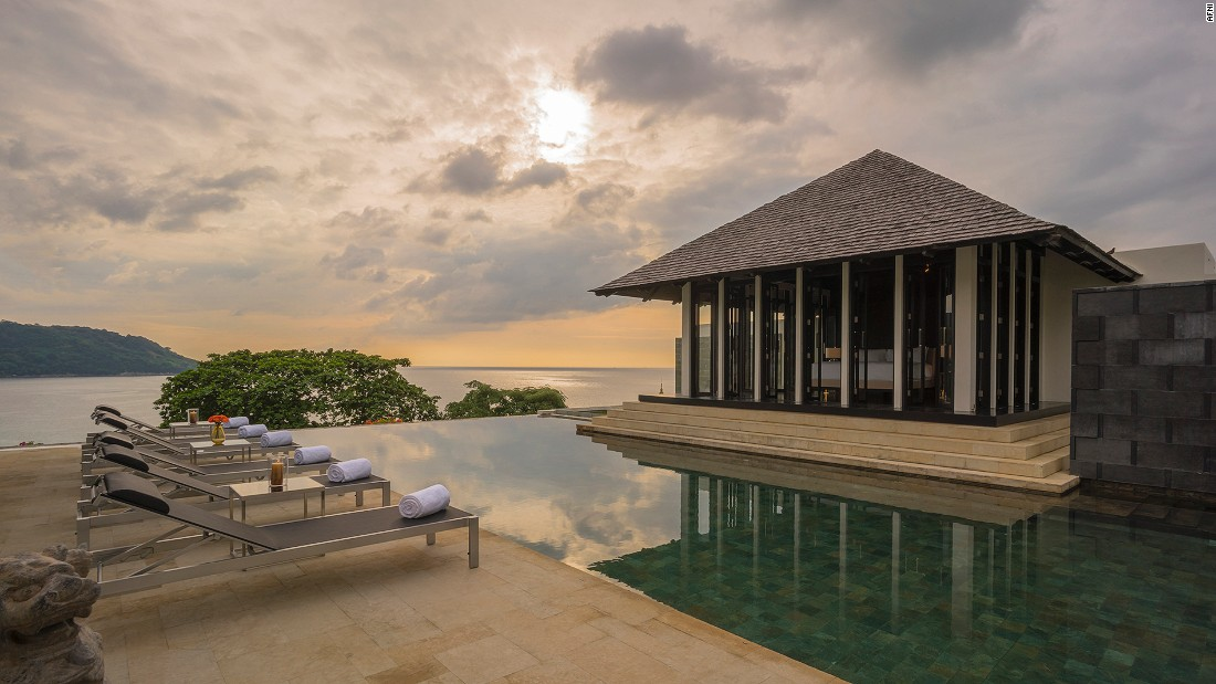 <strong>Lom Talay, Phuket: </strong>Another Phuket property, this<strong> </strong>cliff-side sanctuary is all about seamless in-and-outdoor living.