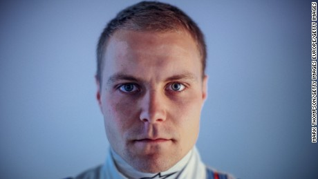 Finnish driver Valtteri Bottas has replaced Nico Rosberg at Mercedes.