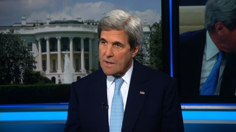 Kerry: Trump's comments were 'inappropriate'
