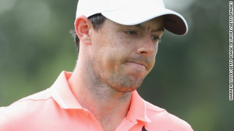 JOHANNESBURG, SOUTH AFRICA - JANUARY 15:  Rory McIlroy of Northern Ireland looks on during the final round of the BMW South African Open Championship at Glendower Golf Club on January 15, 2017 in Johannesburg, South Africa.  (Photo by Warren Little/Getty Images)