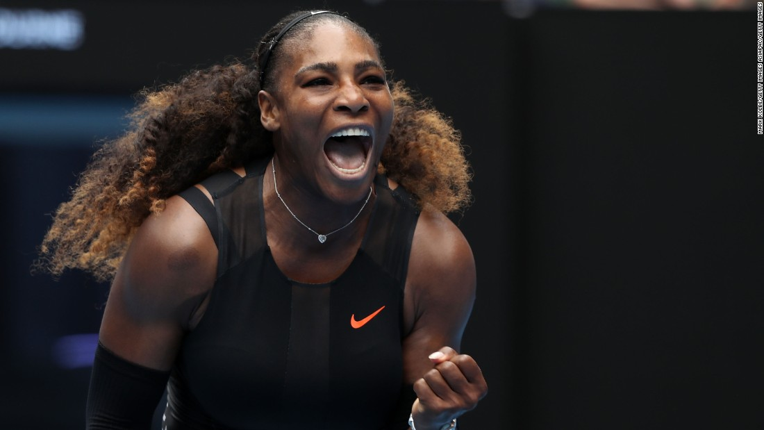 After a 2016 hampered by injuries, Serena Williams goes in search of a record 23rd grand slam title in Melbourne. She got off to a winning start by beating Belinda Bencic of Switzerland 6-4 6-3.