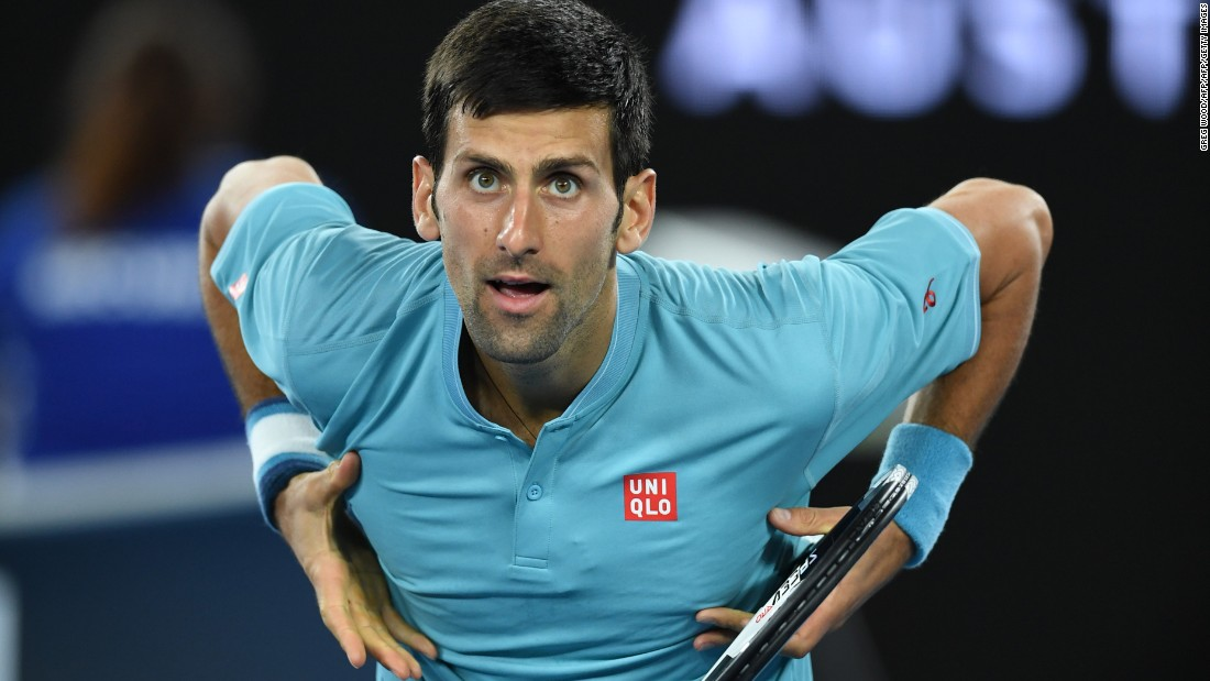 Having been knocked off the No. 1 spot by Andy Murray at the end of last year, Novak Djokovic faced a tricky first-round tie against Spain's Fernando Verdasco. After struggling in the second set, the Serb came through 6-1 7-6 6-2.