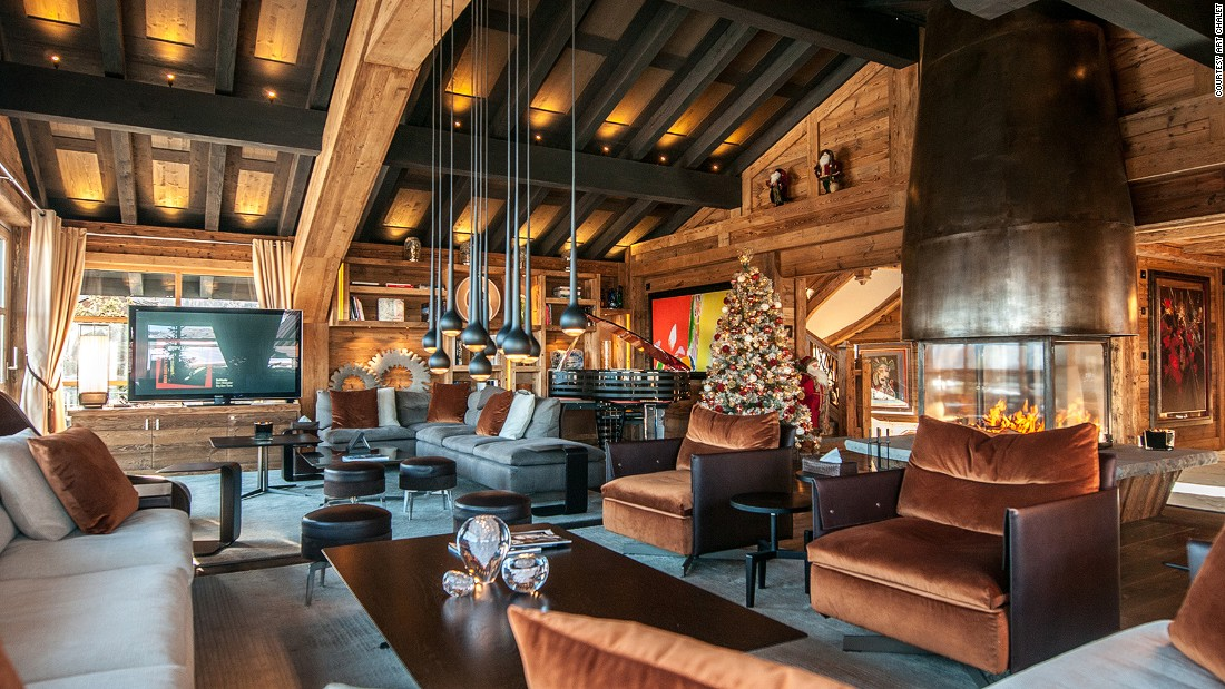 <strong>Art Chalet, Courchevel (France): </strong>The flamboyant Art Chalet is an homage to art, contemporary design and bespoke fittings.