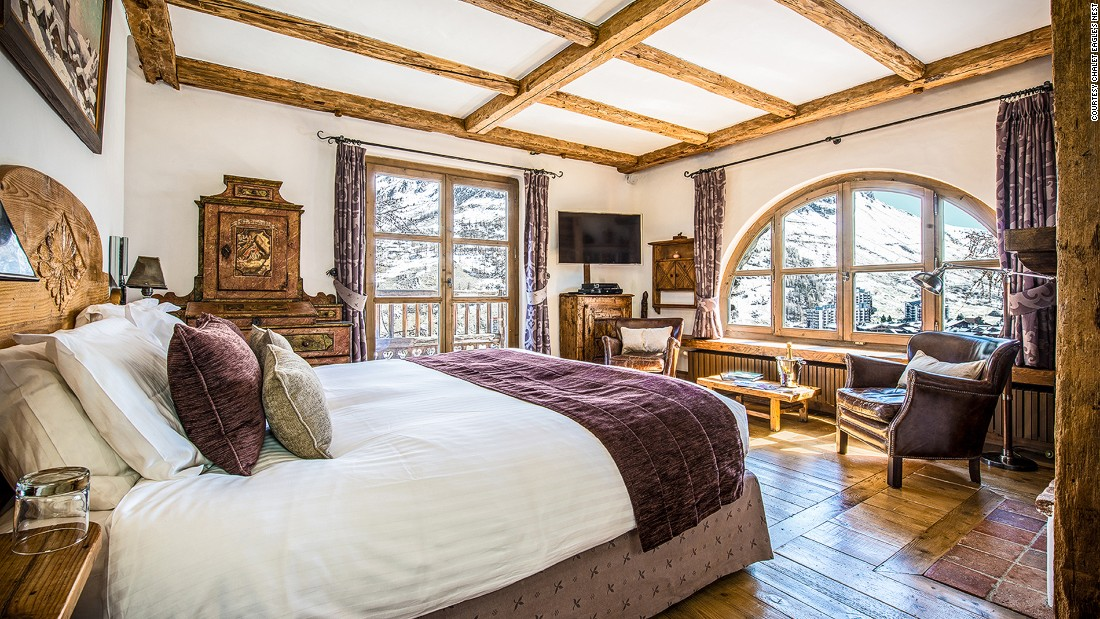 <strong>Chalet Eagle's Nest, Val d'Isere (France): </strong>Sitting atop Val d'Isere, Eagle's Nest has been raising the bar for luxury ski chalets from the start.