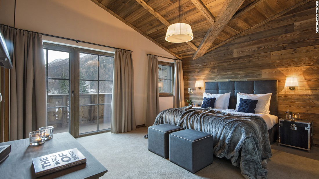 <strong>Chalet Eden Rock, St Anton (Austria): </strong>The spacious wood and stone-clad space was designed by an award-winning architect. <strong> </strong>