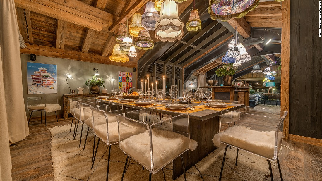 <strong>Chalet Husky, Val d'Isere (France): </strong>Long for more exercise after a day of skiing? This chalet provides other energy-consuming entertainments including a climbing wall, an archery facility and a rifle range.