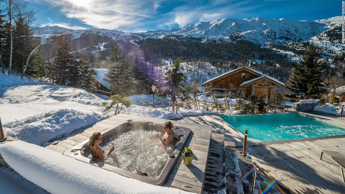 9 of the best luxury ski chalets in europe - Infinity pool europe ...