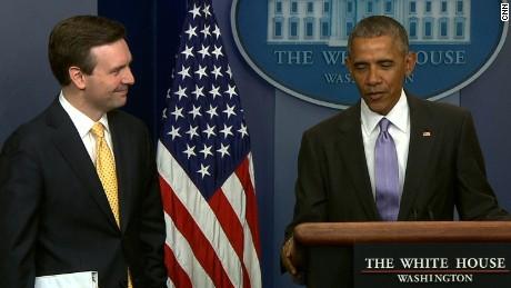 Obama final briefing Earnest