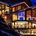 Top ski chalet-zermatt-peak-exterior-night