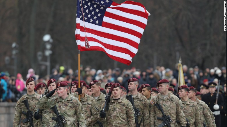 US troop movement in Europe: one thing to know