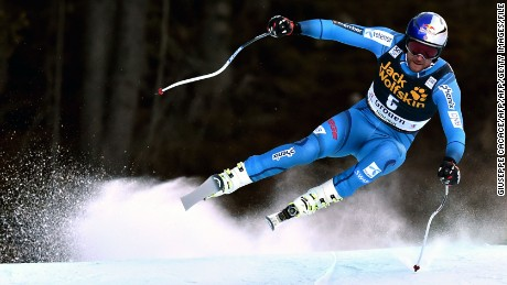 Svindal was second in December's downhill race at Val Gardena.