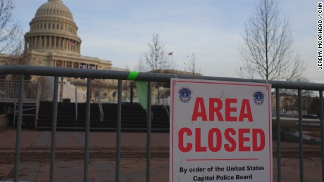 United States Capitol area closed for inauguration