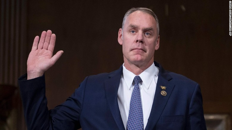 Ryan Zinke Confirmation Hearing For Interior Secretary